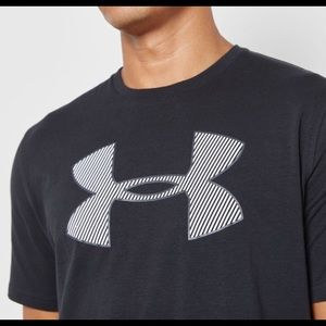 UA Big Logo Under Armour T-Shirt With HeatGear